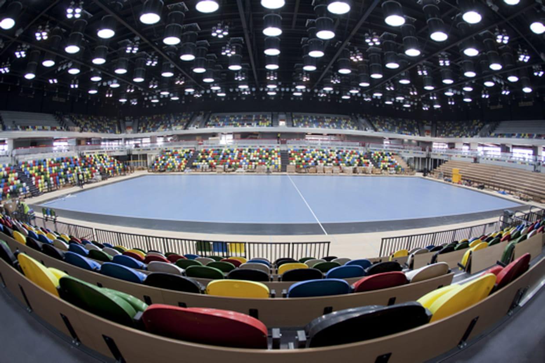 Salle de Sport ARENA en Construction Métalique légère (12000 places)