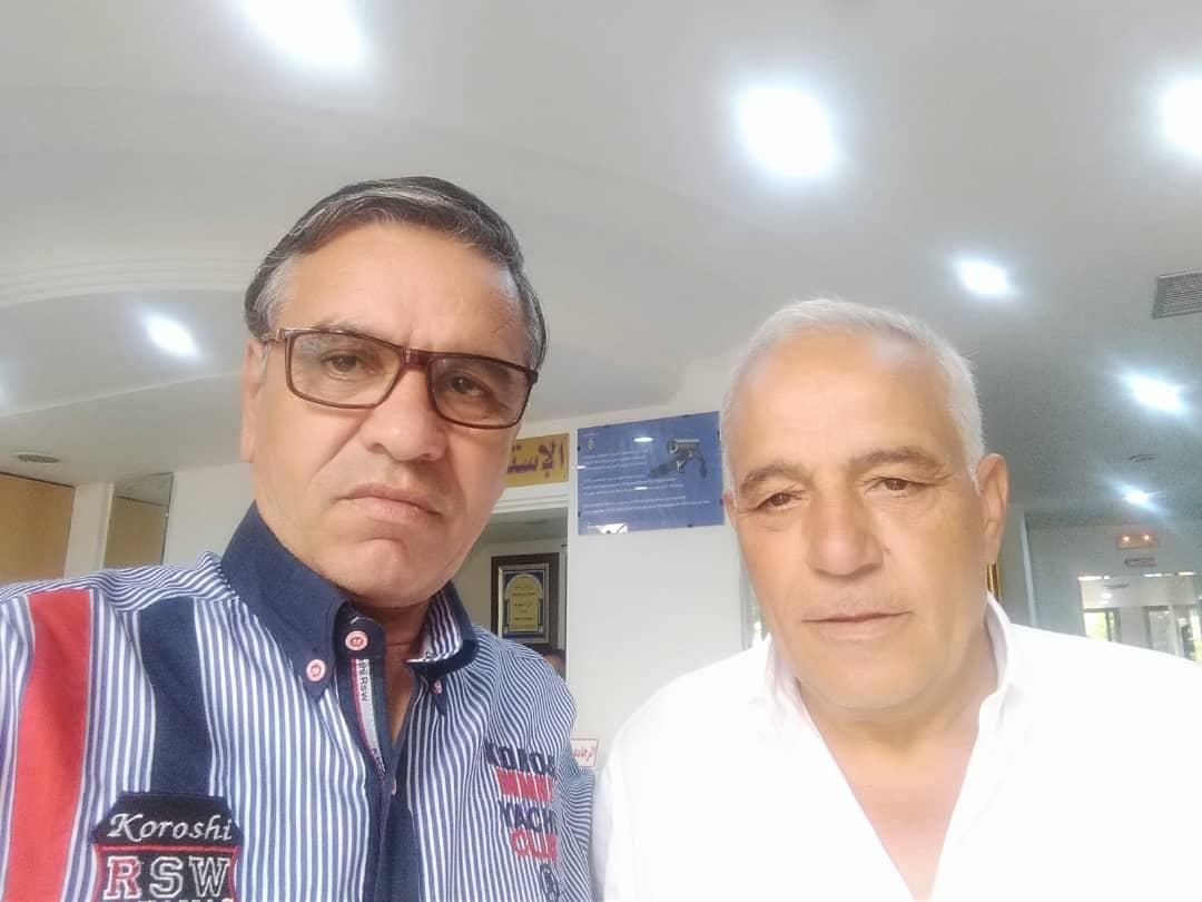 Avec  M. Fawad ben Hamid en vue du lancement des études