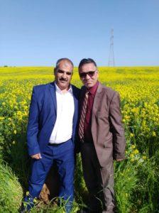 Avec le représentant de l'Etat d'Oued, M. Hedi Guider député